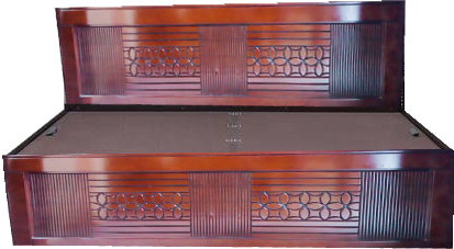 Simple Malaysian Wooden Bed SR-B08